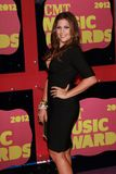 Hillary Scott at the 2012 CMT Music Awards, Bridgestone Arena, Nashville, TN 06-06-12 Royalty Free Stock Photos