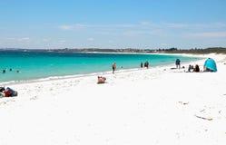 Hillarys海滩:西澳州 免版税图库摄影