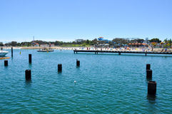 Hillarys Boat Harbour: Family Fun Royalty Free Stock Photo
