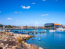 Hillarys boat harbour Royalty Free Stock Photography