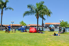 Hillarys Boat Harbour: Leisure Time Stock Photography