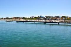 Hillarys Boat Harbour Scene Stock Photos