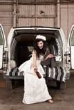 hillbilly γάμος στοκ φωτογραφία με δικαίωμα ελεύθερης χρήσης