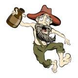 Hillbilly di dancing Immagini Stock