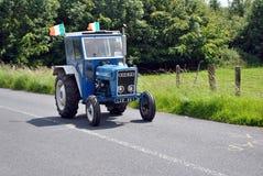 Hillbilly tractor run Royalty Free Stock Photos