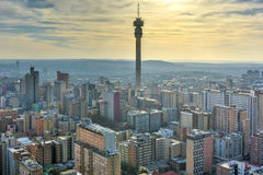 Hillbrow Tower - Johannesburg, South Africa royalty free stock photo