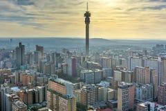 Hillbrow-Turm - Johannesburg, Südafrika lizenzfreies stockfoto