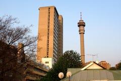Hillbrow wierza w Johannesburg fotografia stock