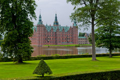 Hillerod Castle, Denmark. Hillerod Castle and gardens, Denmark Royalty Free Stock Photo