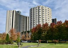 Hilliard Tower Apartments Royalty Free Stock Image