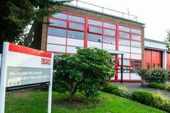 HILLINGDON, LONDON, ENGLAND - 14 August 2021: Hillingdon Fire Station