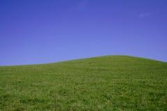 Hilll y cielo Foto de archivo libre de regalías