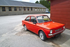 Hillman Imp. Was a compact car model with rear-mounted engine, produced under Hillmann name of the Rootes Group (later Chrysler Europe) between 1963 and 1976 Royalty Free Stock Photos
