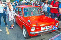 Hillman Imp at Motor Mania Stock Images
