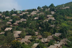 Hillmen village. At tak province, thailand Royalty Free Stock Images