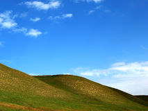 Hills. From the Vojvodina, Serbia Royalty Free Stock Image