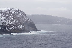 Hills. Near Cape Spear in Newfoundland Stock Images