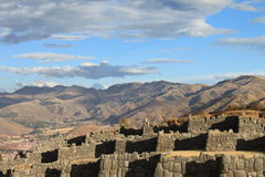 Hills above Cusco Peru Stock Photos