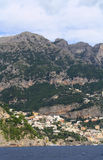 The hills above Positano Stock Image