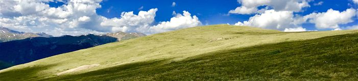 The hills are alive stock image