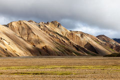 Hills around Landmannalaugar area, South Iceland Stock Images
