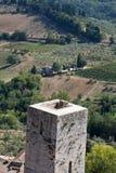 Hills around San Gimignano. Stock Image