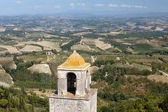 Hills around San Gimignano. Stock Photography