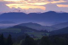 Hills of Austria Stock Photography