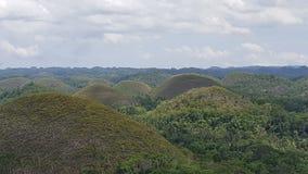 Hills of bohol Stock Images