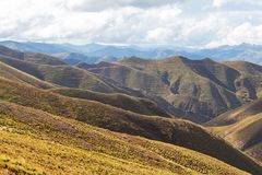 Hills in Bolivia Stock Photos