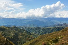 Hills in Bolivia Stock Photography