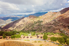 Hills in Bova, Calabria Royalty Free Stock Photos