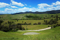 Hills at Buchan in Australia Stock Photos