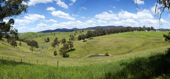 Hills at Buchan in Victoria Royalty Free Stock Photos