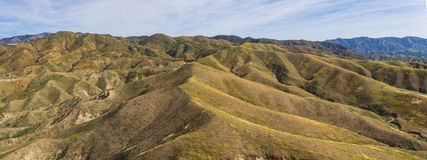 Hills and Canyons of Southern California Stock Photography