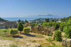 The hills of Carthage Royalty Free Stock Photos