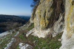 Hills in Crimea near Bakhchisarai Crimea Royalty Free Stock Photos
