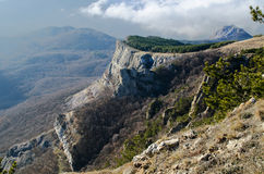 Hills in Crimea (Russia) Royalty Free Stock Image
