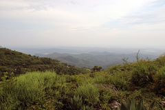 Hills in Cuba. Photo was taken on one of the hills of Cuba - Panoramic views royalty free stock image