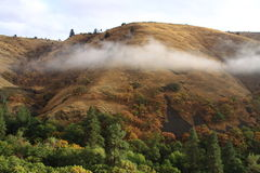 Hills of the Dalles Royalty Free Stock Photos