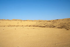 Hills in the desert. Royalty Free Stock Photography