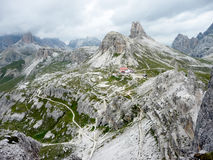 Hills in the dolomiten Royalty Free Stock Photo