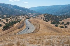 Hills. Dry parched hills, Livermore, California Stock Images