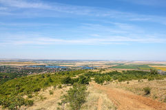 Hills of Ghioroc -  Arad Romania Stock Photo