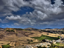 Hills of Gozo Royalty Free Stock Images
