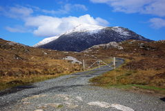 Hills of Harris Stock Images