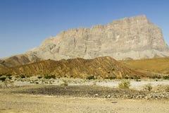 Hills of Jabal Shams Stock Image