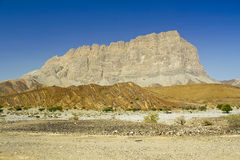 Hills of Jabal Shams Royalty Free Stock Photo