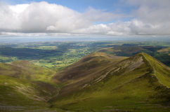 Hills in The Lake District, England. A photo of the Lake District, England royalty free stock photo