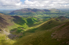 Hills in The Lake District, England Royalty Free Stock Photo